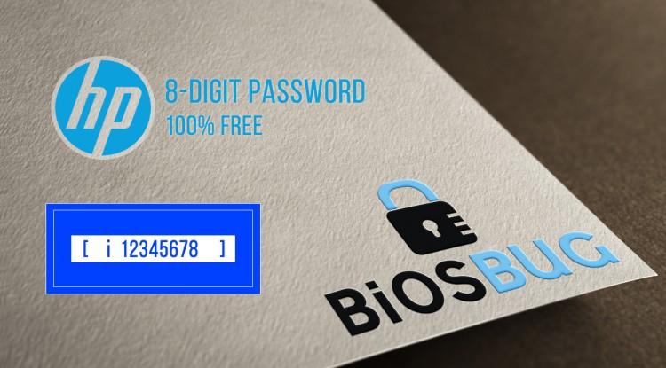 Enter Administrator Password or Power On Password HP laptop