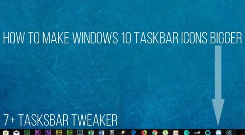 How to resize Windows 10 taskbar icons easy way