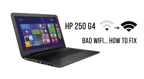 HP 250 G4 Wireless not working - How To Fix