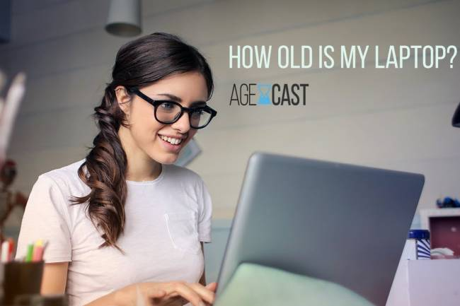 How to find out how old is my laptop?