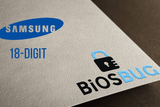 How to remove or reset Samsung laptop bios password